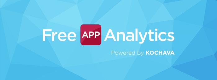 free app analytics powered by kochava