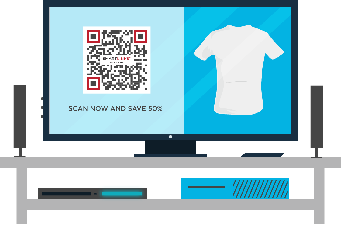 QR codes that deep link from TV