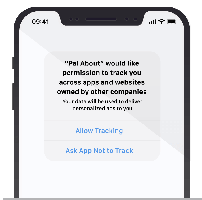 Apple prompt fot ATT