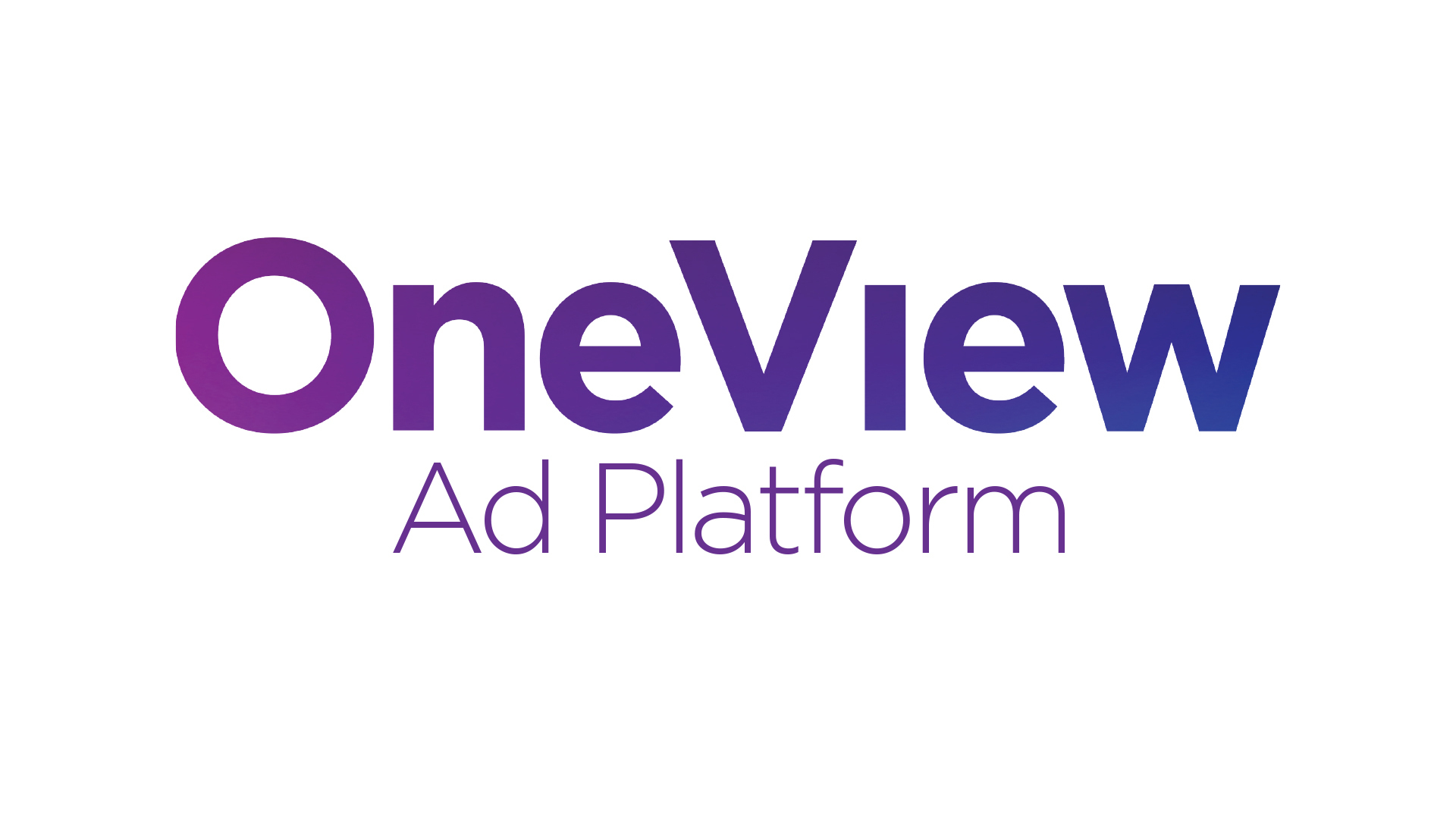 OneView Ad Platfom logo